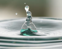 Water drops. Royalty Free Stock Image