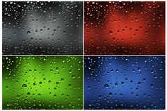 Water drops Stock Image