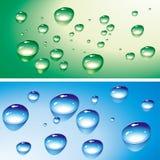 Water drops stock illustration