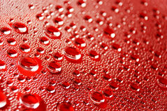 Water drops. Drops of water on glass Royalty Free Stock Images