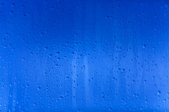 Water drops. On abstract background Royalty Free Stock Image