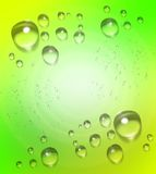 Water drops background Royalty Free Stock Photos