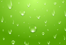 Water drops background. Fresh aqua or healthy natural concept.  Royalty Free Stock Image