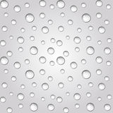 Water drops background. Seamless. Stock Photos