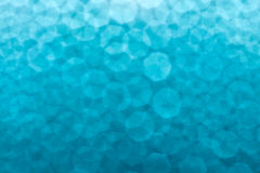 Water drops on blue. Glass Stock Images