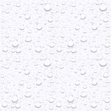 Water drops on car glass.rain drops on clear window. Art royalty free illustration