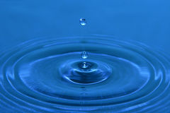Water drops - clean water Stock Photography
