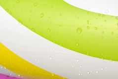 Water drops and color Royalty Free Stock Images