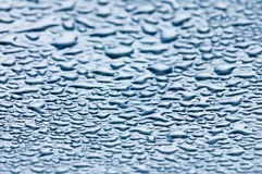 Water drops - condensation. Photo of water drops, close up Stock Photos