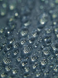 Water drops on fabric Royalty Free Stock Photography