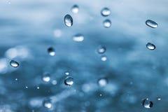 Water drops. Royalty Free Stock Photos