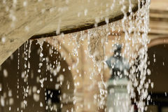 Water drops of fountain Royalty Free Stock Image