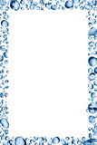 Water Drops Frame Royalty Free Stock Photo