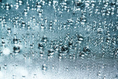 Water drops on glass Royalty Free Stock Image