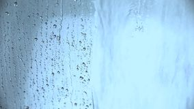 Water drops stock footage