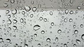Water drops on glass. In car Royalty Free Illustration