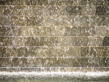 Water drops on the golden wall Royalty Free Stock Photos