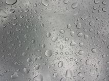 Water Drops. Clearly background with on glass Royalty Free Stock Photos
