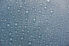 water drops gray color texture background close-up. royalty free stock photo