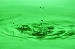 Water drops. Royalty Free Stock Images