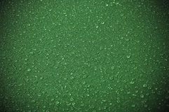 Water drops on green Royalty Free Stock Images