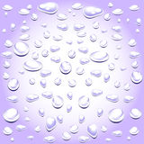 Water drops pattern background Stock Photo