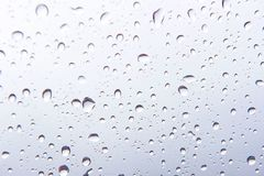 Water drops , Rain droplets on white background.  stock illustration