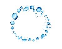 Water Drops Ring Stock Photos