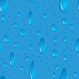 Water drops seamless Stock Photography