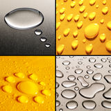 Water Drops Set Royalty Free Stock Image