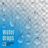 Water drops Royalty Free Stock Photos