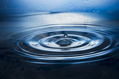 Water. Drops. Spray. Wavelets. Stock Image