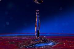 Water. Drops. Spray. Wavelets. Stock Photo
