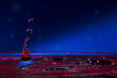 Water. Drops. Spray. Wavelets. Royalty Free Stock Photography