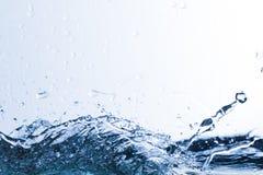 Water, drops, sprays, splashes, stream, flow, abstraction, minim Stock Image