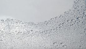 Water Drops on the Surface Stock Photos