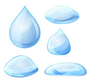 Water drops. Vector Stock Images