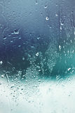Water drops on window Royalty Free Stock Photography