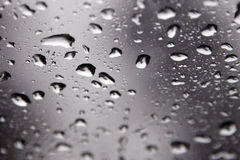 Water Drops On A Window stock images