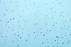 Water drops on the window Royalty Free Stock Images