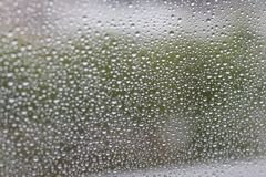 Water drops on the glass background image Royalty Free Stock Photography