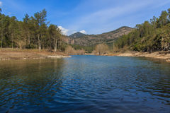 Water, Earth and Sky: the best in a mountain landscape.  stock photography