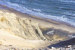 Water smashing on the seaside Royalty Free Stock Image