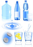 Water elements Royalty Free Stock Photography