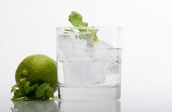 Water en kalk royalty-vrije stock fotografie