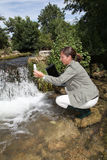 Water en milieu royalty-vrije stock afbeelding