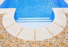 Water en paraplu's royalty-vrije stock fotografie