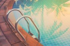 Water en paraplu's Stock Afbeelding