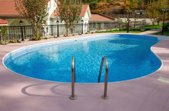 Water en paraplu's Stock Foto's