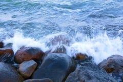 Water en rotsen Stock Fotografie